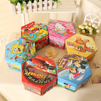 4 in 1 Crayon Set Kartun