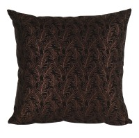 Curated Home Cushion Cover Sarung Bantal Sofa 45 x 45cm Bronze Leaf