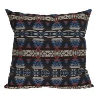 Curated Home Cushion Cover Sarung Bantal Sofa 45 x 45cm Boho Blue