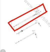 Kabel Kopling Kawasaki Z250 Original, Ready Stock