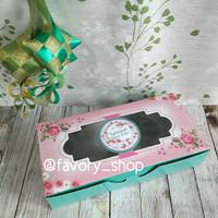 Dus Lebaran 12,5 x 25 Pink Tosca / Dus kue / Packaging Kue