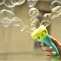AUTOMATIC BUBBLE WATER GUN / MAINAN GELEMBUNG SABUN OTOMATIS