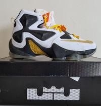 Sepatu Basket Nike Lebron 13 BNIB Premium Original White X Air Jordan