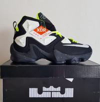 Sepatu Basket Nike Lebron 13 BNIB Premium Original Black X Air Jordan
