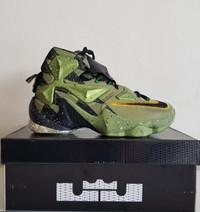 Sepatu Basket Nike Lebron 13 BNIB Premium Original Green X Air Jordan