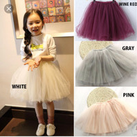 rok tutu anak 2layer pjg30cm usia 4-7th