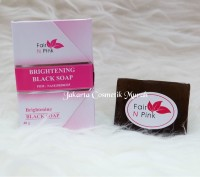 SABUN FAIR n PINK / BRIGHTENING SOAP BLACK SOAP FAIR N PINK