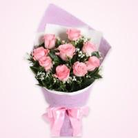 buket bunga wisuda - kado ulang tahun - bunga mawar