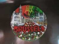 PAJANGAN KULKAS BRUSSELS BELGIA N.296 | Souvenir mancanegara unik lucu