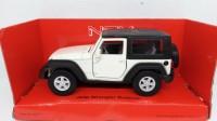 Diecast Miniatur Mobil Jeep Wrangler Rubicon - Diecast Welly Nex