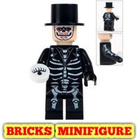 Minifigure Horror Halloween WM8008 James Bond walking dead minifigures