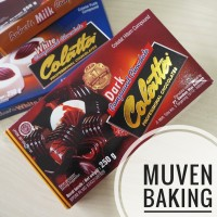 COKLAT BATANG COLATTA DARK 250 Gr / CHOCOLATE COMPOUND COKELAT