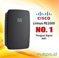 Penguat Signal Wifi Linksys RE1000 Wi-Fi Range Extender N300