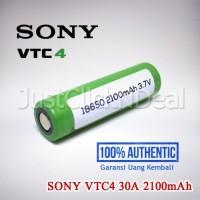 Authentic Sony VTC4 30A 2100mAh Baterai Vape INR 18650 Not LG HG2