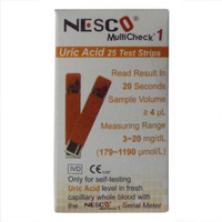 Strip Refill Asam Urat Nesco (N)