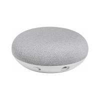 Google Home Mini Speaker and Assistant ORIGINAL 100% - Abu-abu Muda