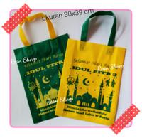 tas tenteng/tas souvenir/goody bag/goodie bag lebaran idul fitri