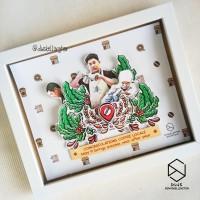 Special Custom Souvenir Hadiah Bingkai Pop Up Frame Grand Opening