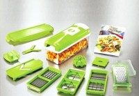 Genius Nicer Dicer Plus Alat potong sayur buah lebih cepat praktis