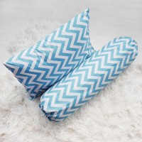 [PP] Pillow & Bolster Cover / Sarung Bantal & Guling- Zigzag Tosca