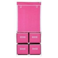 Lemari Pakaian Gantung Dan 4 Laci Type MW merek NINE BOX