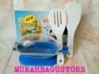 Double RIce Spoon / Centong Nasi Higienis Anti Lalat Isi 2pcs Murah