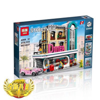 Brick Lepin 15037 Streetview Downtown Diner 2778pcs