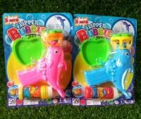 Bubble Gun / Mainan Anak Tembakan Gelembung Balon Sabun