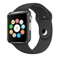 Bluetooth Smart Watch A1 Camera + Sim Phone + Memori Card FULLHITAM