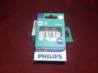 Philips LED Lampu Senja T10 Mobil dan Motor 6000k Original Termurah