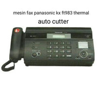 Mesin Fax Panasonic KX-FT983CX (Hitam) Mesin Fax Thermal KX-FT 983