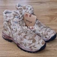 "Sepatu Outdoor Hanagal Hunting Boots 6"" Desert Marpat Waterproof ORI"