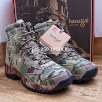 Sepatu Outdoor Hanagal Hunting Boots 6 Multicam Waterproof ORI