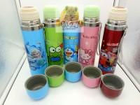 Termos air panas Karakter Frozen / Doraemon / Hello K / Cars / Keropi