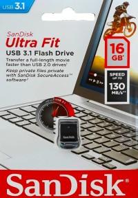 Sandisk Cruzer Ultra Fit CZ430 16GB USB 3.1