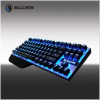 Sades KARAMBIT MECHANICAL (Blue Switch)