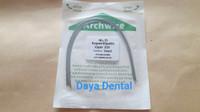 Dental kawat niti/kawat behel gigi/kawat bracket gigi pack 016 upper