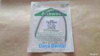 Dental kawat niti/kawat behel gigi/kawat bracket gigi pack 012 lower