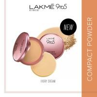 Lakme 9to5 Reinvent Primer + Matte Powder Found Compact - Ivory Cream