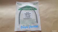 Dental kawat niti/kawat behel gigi/kawat bracket gigi pack 012 upper