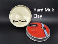 Pomade Hard Muk Styling Mud Hairmud Matte Finish Waterbased FREE SISIR