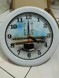 Jam Dinding Merk OGANA Mekkah/Ka'bah Diameter 30cm