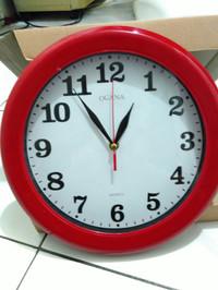 Jam Dinding OGANA Polos Diameter 30cm