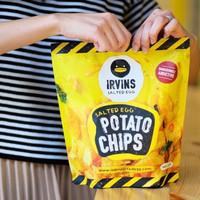 READY STOCK! IRVINS Salted Egg Potato Chips 230 Gram (Singapore)