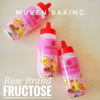 GULA CAIR FRUKTOSA / FRUCTOSE ROSE BRAND / SIMPLE SYRUP 500 Gr
