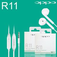 HEADSET / HANSFREE / EARPHONE OPPO R11 GOOD QUALITY