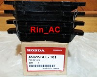 ORIGINAL OEM Brake Pad - Kampas Rem Depan Honda Jazz GD3, City 03-08