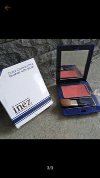 Blush On Colour Contour Plus Inez Blusher with Brush