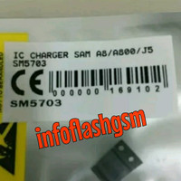 Ic Charger Cas Casan Samsung A8 A800 J5 J500 2015 Original SM5703