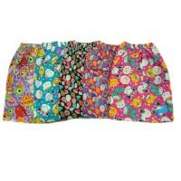 Celana Pendek Wanita Celana Santai Celana Harian Motif Warna Lucu